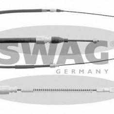 Cablu, frana de parcare MERCEDES-BENZ T1 platou / sasiu 308 D 2.3 - SWAG 99 90 1657