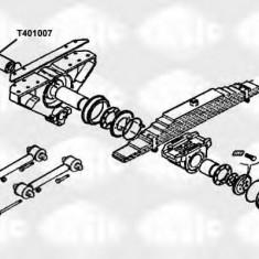Lagar, fixare ax - SASIC T401007 - Bucse Bara Stabilizatoare