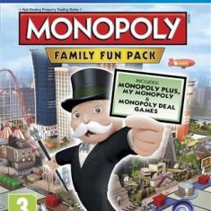 Monopoly Family Fun Pack Ps4 - Jocuri PS4, Board games, 3+