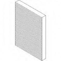Filtru, aer habitaclu AUDI A1 1.4 TFSI - TOPRAN 109 044 - Filtru polen