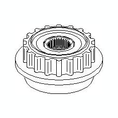 Sistem roata libera, generator VW MULTIVAN Mk V 2.5 TDI - TOPRAN 113 417 - Fulie
