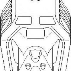 Suport motor MERCEDES-BENZ A-CLASS A 160 CDI - TOPRAN 407 834 - Suporti moto auto