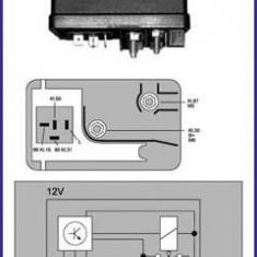 Releu, instalatia de comanda bujii incandescente FIAT STRADA II 60 Diesel 1.7 - HÜCO 132053 - Relee
