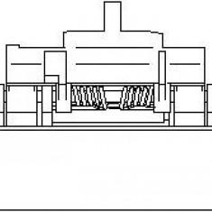 Maner usa PEUGEOT 306 hatchback 1.9 D - TOPRAN 721 729
