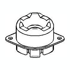 Suport, transmisie manuala AUDI 90 2.3 E - TOPRAN 109 064 - Tampon cutie viteze