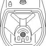 Suport, transmisie manuala AUDI A4 limuzina 1.6 - TOPRAN 107 989