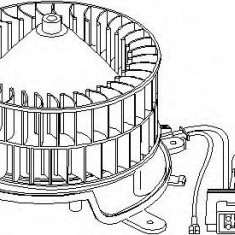 Electromotor, ventilatie interioara MERCEDES-BENZ E-CLASS limuzina E 290 Turbo-D - TOPRAN 401 848 - Motor Ventilator Incalzire
