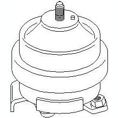 Suport motor SEAT TOLEDO  1.9 D - TOPRAN 102 740 - Suporti moto auto