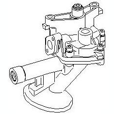 Pompa ulei AUDI TT 3.2 VR6 quattro - TOPRAN 110 739