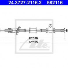Cablu, frana de parcare MITSUBISHI SPACE STAR 1.9 DI-D - ATE 24.3727-2116.2