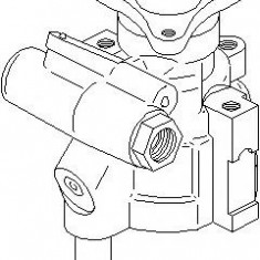 Pompa hidraulica, sistem de directie RENAULT MEGANE I 2.0 i - TOPRAN 700 755 - Pompa servodirectie