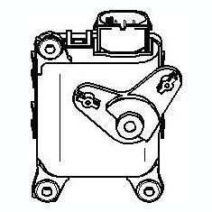 Element de reglare, clapeta carburator AUDI A4 limuzina 1.8 T - TOPRAN 111 100 - Control Aer Conditionat