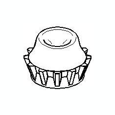 Inel, rulment sarcina amortizor VW PASSAT 1.6 - TOPRAN 108 664 - Rulment amortizor
