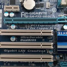 Kit Gaming Gigabyte GA P55 UD3L + Xeon X5450 Quad Core 2, 7ghz - Placa de Baza Gigabyte, Pentru INTEL, Socket: 1156, DDR 3, Contine procesor, ATX