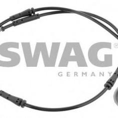 Senzor de avertizare, uzura placute de frana BMW 5 Gran Turismo 530 d - SWAG 20 93 6428 - Senzor placute