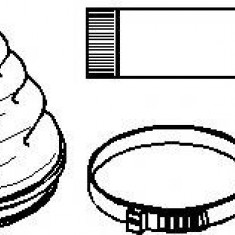 Ansamblu burduf, articulatie planetara MERCEDES-BENZ SPRINTER 2-t bus 208 D - TOPRAN 400 744 - Burduf auto