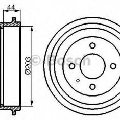 Tambur frana FORD ESCORT Mk III 1.6 i - BOSCH 0 986 477 014 - Saboti frana auto