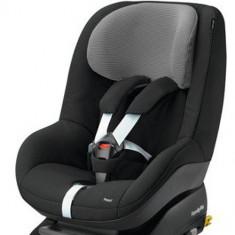 Scaun Auto Pearl 9-18 kg Black Raven - Scaun auto copii grupa 0-1 (0-18 kg) Maxi Cosi, 1 (9-18 kg), Isofix