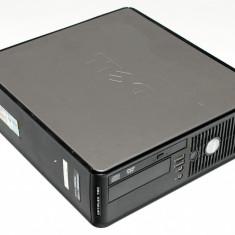 Calculator SFF Dell Optiplex 760 Intel Core 2 Duo E7500 2.93GHz, 4GB DDR2, 160GB HDD, DVD-RW, J1MSQ4J - Sisteme desktop fara monitor