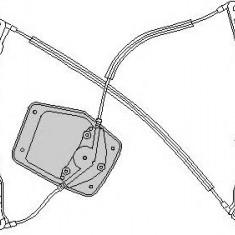 Mecanism actionare geam VW RABBIT V 1.4 16V - TOPRAN 111 268 - Macara geam