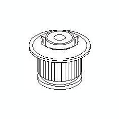 Suport, transmisie manuala AUDI 500 1.9 - TOPRAN 103 658 - Tampon cutie viteze