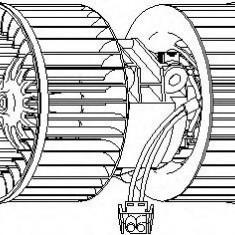 Ventilator, habitaclu BMW 3 limuzina 318 i - TOPRAN 501 697 - Motor Ventilator Incalzire