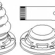 Ansamblu burduf, articulatie planetara BMW 5 limuzina 520 d - TOPRAN 501 317 - Burduf auto