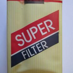 PACHET NOU TIGARI COLECTIE SUPER FILTER DIN ANII 80