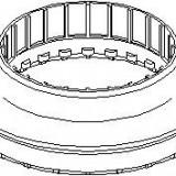 Rulment sarcina amortizor OPEL ASTRA H combi 1.6 LPG - TOPRAN 206 450