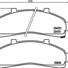 Placute frana FORD USA EXPLORER 4.0 V6 4WD - MINTEX MDB1785 - Ventilatoare auto