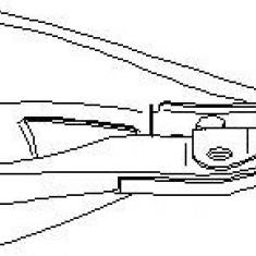 Brat, suspensie roata RENAULT CLIO  1.9 D - TOPRAN 700 312
