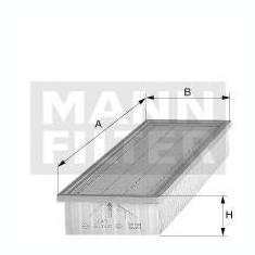 Filtru, aer habitaclu - MANN-FILTER CU 34 105 - Filtru polen