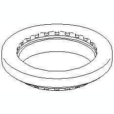 Rulment sarcina amortizor FORD FOCUS 1.4 16V - TOPRAN 301 401 - Rulment amortizor