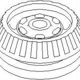Rulment sarcina suport arc OPEL OMEGA A 1.8 N - TOPRAN 200 440