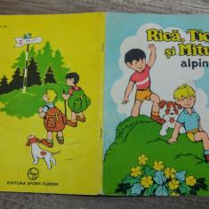 Rica, Tica si Mitus alpinisti// carte de colorat