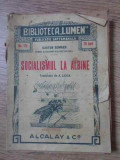 Socialismul La Albine - Gaston Bonnier ,394545