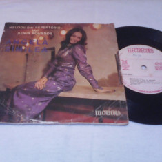 DISC VINIL ANGELA SIMILEA-MELODII DIN REPERTORIUL LUI DEMIS ROUSSOS EDC 10 428 - Muzica Pop