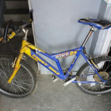 Vand bicicleta Mountain Bike First Bike, 24 inch, Numar viteze: 18