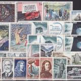 1679 - lot timbre neuzate, perfecta stare, serii complete Franta anul 1965