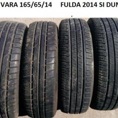ANVELOPE VARA DUNLOP SI FULDA 165/65/14 5-6MM, R14