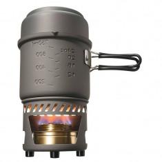 Esbit Arzator Spirt Solid + Set Vase anodizate si suport CS985HA - Vesela camping