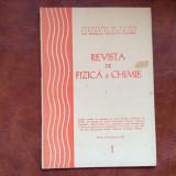 Revista de Fizica si Chimie - anul XVII - nr 1 / ianuarie 1980 !
