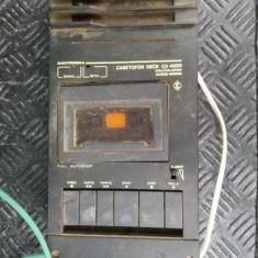 CASETOFON ELECTRONICA DECK CA 4000 CALCULATOR AUDIO MONO .