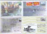 Bnk fil Lot 7 intreguri postale 2002 circulate, Dupa 1950