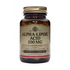 Alpha Lipoic Acid 200mg 50 caps, Solgar