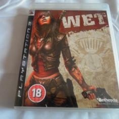 Joc WET, PS3, original, alte sute de jocuri! - Jocuri PS3 Sony, Actiune, 18+, Single player