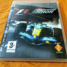 Joc Formula 1 Championship Edition, PS3, original, alte sute de jocuri! - Jocuri PS3 Codemasters, Curse auto-moto, 12+, Multiplayer