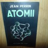 ATOMII -JEAN PERRIN ANUL 1949