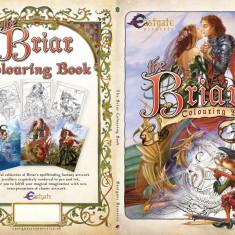 Carte de colorat Lumea fantastica a lui Briar