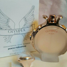 Tester Paco Rabanne Olympea Aqua Made in France - Parfum femeie Paco Rabanne, Apa de toaleta, 80 ml